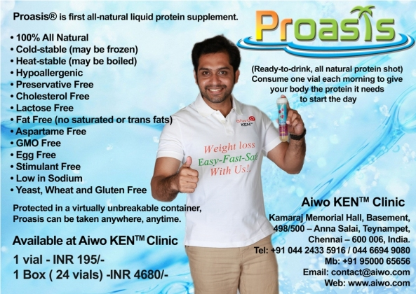 Proasis Now Available at Aiwo KEN Clinic